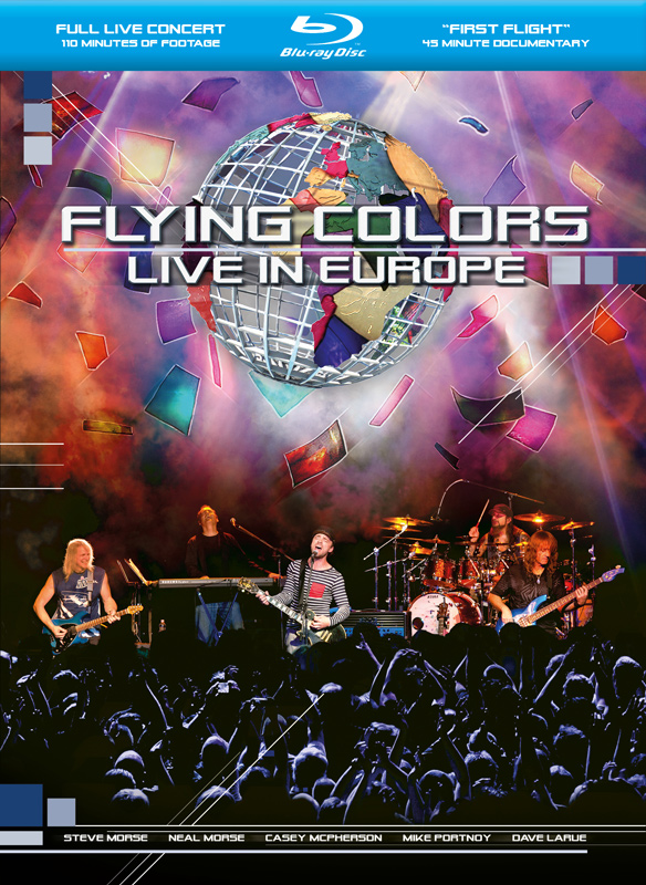 Flying Colors - Live In Europe DVD (album) cover