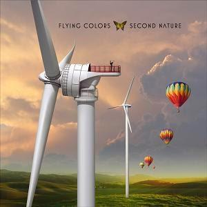 FLYING COLORS second nature cd album cover