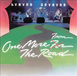LYNYRD SKYNYRD - One More From The Road CD album cover