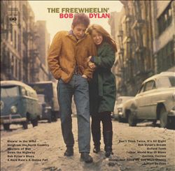 BOB DYLAN - The Freewheelin' Bob Dylan CD album cover