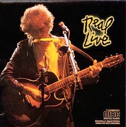 BOB DYLAN - Real Live CD album cover