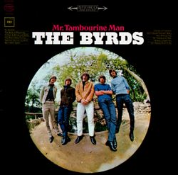 The Byrds - Mr. Tambourine Man CD (album) cover