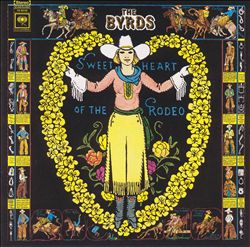 THE BYRDS - Sweetheart Of The Rodeo CD album cover
