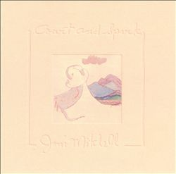 JONI MITCHELL - Court And Spark CD album cover