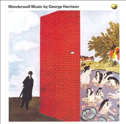 George Harrison - Wonderwall Music CD (album) cover