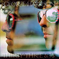George Harrison - Thirty Three & 1/3 CD (album) cover