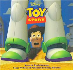 RANDY NEWMAN - Toy Story [deutscher Original Film-soundtrack] CD album cover
