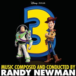 RANDY NEWMAN - Toy Story 3 CD album cover