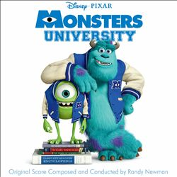 RANDY NEWMAN - Monsters University CD album cover
