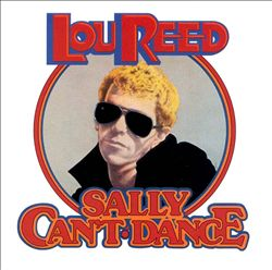 Lou Reed - Sally Can't Dance CD (album) cover