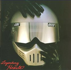 Lou Reed - Legendary Hearts CD (album) cover