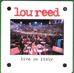 Lou Reed - Live In Italy CD (album) cover