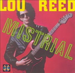 Lou Reed - Mistrial CD (album) cover