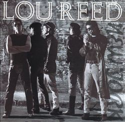 Lou Reed - New York CD (album) cover