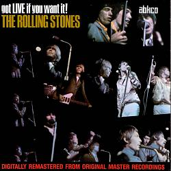The Rolling Stones - Got Live If You Want It! CD (album) cover