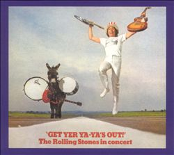 The Rolling Stones - Get Yer Ya-ya's Out! CD (album) cover