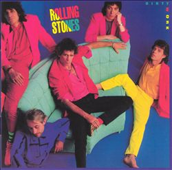 The Rolling Stones - Dirty Work CD (album) cover