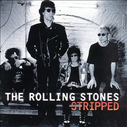 The Rolling Stones - Stripped CD (album) cover