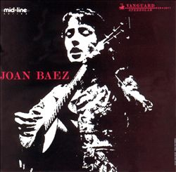 Joan Baez - Joan Baez CD (album) cover