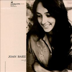 Joan Baez - Joan Baez, Vol. 2 CD (album) cover