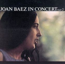 Joan Baez - Joan Baez In Concert, Pt. 2 CD (album) cover