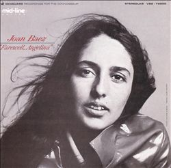 Joan Baez - Farewell, Angelina CD (album) cover