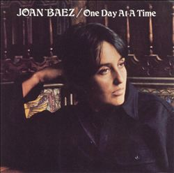 Joan Baez - One Day At A Time CD (album) cover