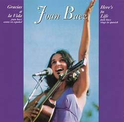 Joan Baez - Gracias A La Vida CD (album) cover