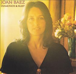 JOAN BAEZ - Diamonds & Rust CD album cover