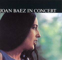Joan Baez - Joan Baez In Concert CD (album) cover