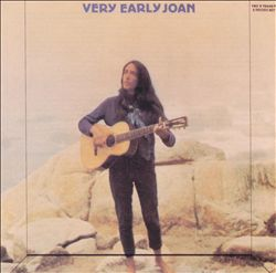 Joan Baez - Very Early Joan CD (album) cover