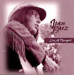 Joan Baez - Live At Newport CD (album) cover