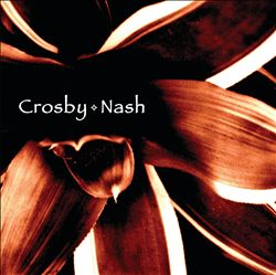 David Crosby - Crosby & Nash (with Graham Nash) CD (album) cover