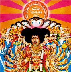 JIMI HENDRIX - Axis: Bold As Love CD album cover
