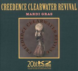 CREEDENCE CLEARWATER REVIVAL - Mardi Gras CD album cover
