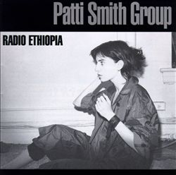 Patti Smith - Radio Ethiopia CD (album) cover