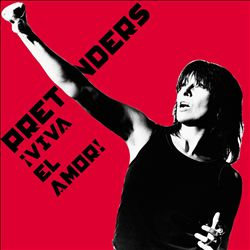 PRETENDERS - Viva El Amor! CD album cover