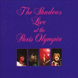The Shadows - Live At The Paris Olympia CD (album) cover