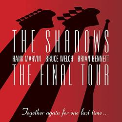 The Shadows - The Final Tour CD (album) cover