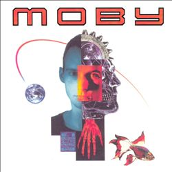 MOBY - Moby CD album cover