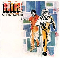 AIR - Moon Safari CD album cover