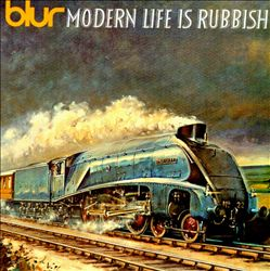 BLUR - Modern Life Is Rubbish CD album cover