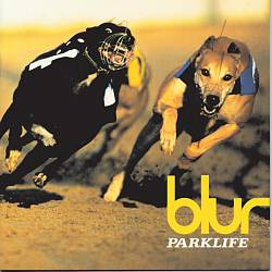 BLUR - Parklife CD album cover