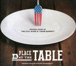 T-BONE BURNETT - A Place At The Table CD album cover