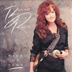 BONNIE RAITT - Nick Of Time CD album cover