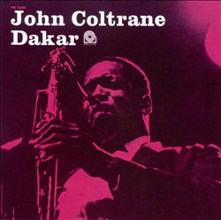 John Coltrane - Dakar CD (album) cover