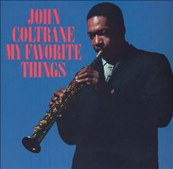 John Coltrane - My Favorite Things CD (album) cover