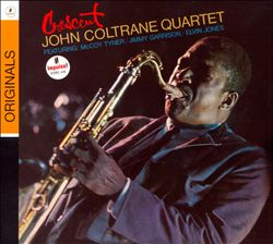 JOHN COLTRANE - Crescent CD album cover