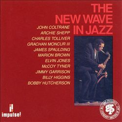 John Coltrane - The New Wave In Jazz CD (album) cover