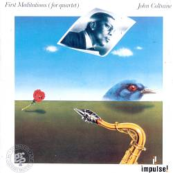JOHN COLTRANE - First Meditations CD album cover